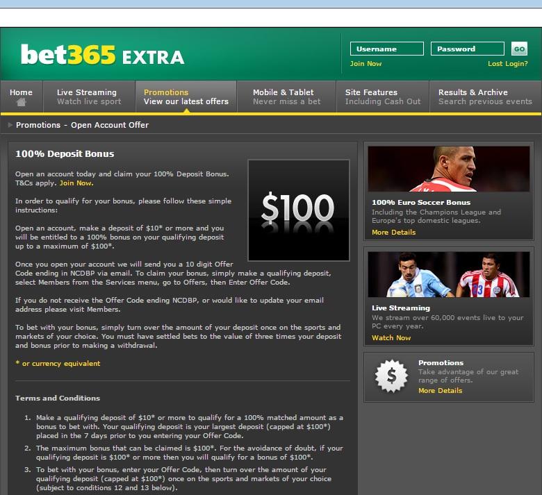 bônus das casas de apostas bet365
